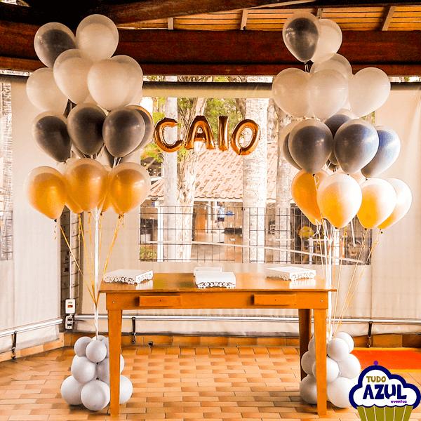 Arco Gas >> Decoração com balões para festas e eventos.